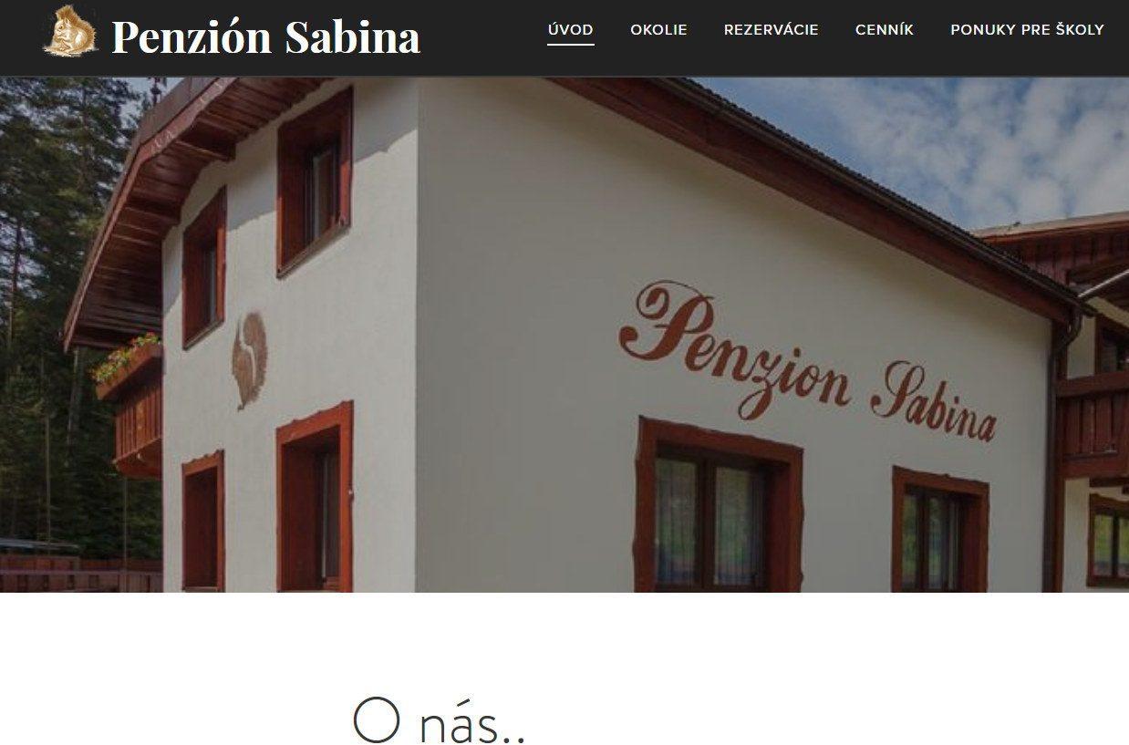 Penzión Sabina