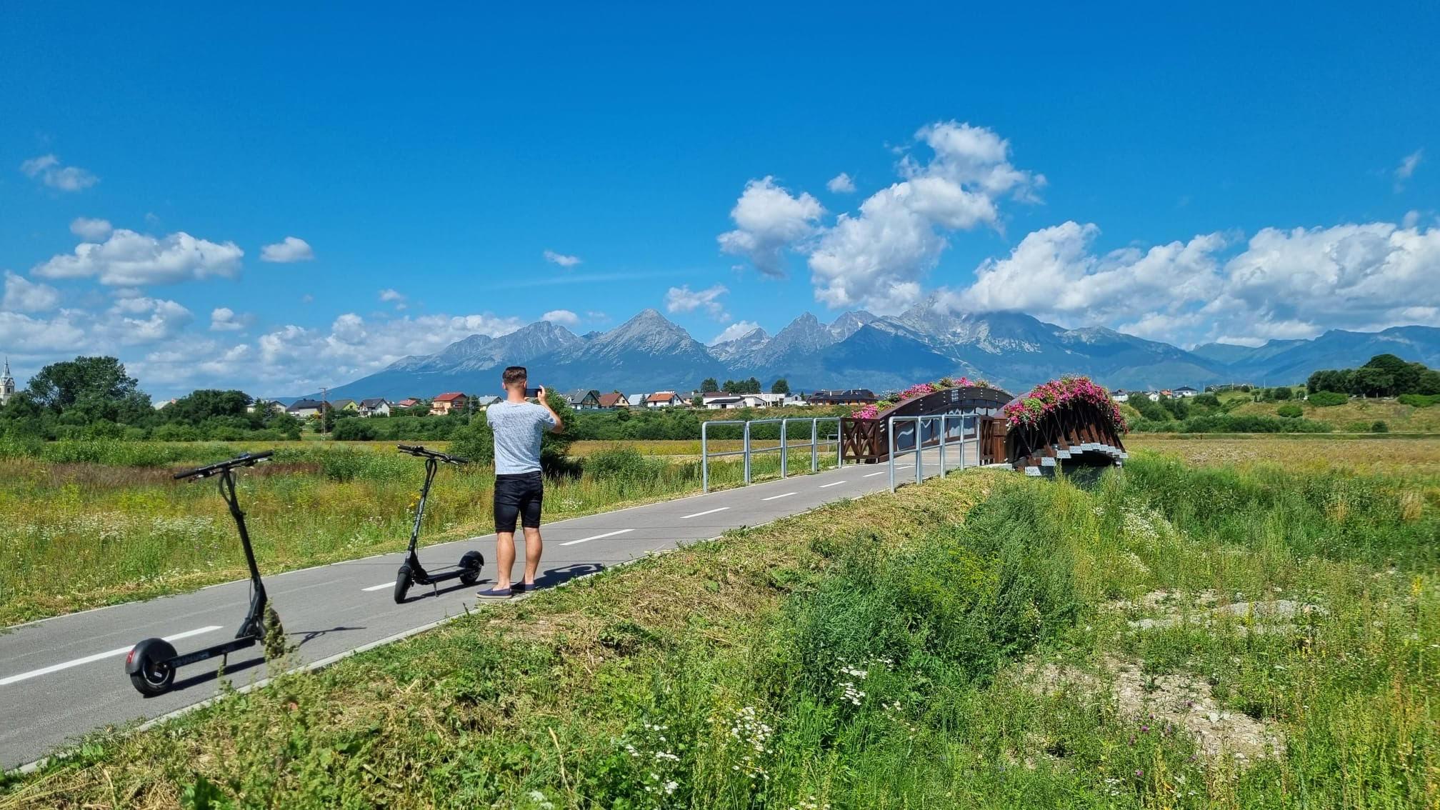 Cyklochodník Veľká Lomnica - Huncovce